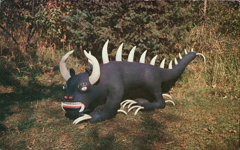 """Hodag"", Rhinelander, Wisconsin, ""Home of the Hodag"""