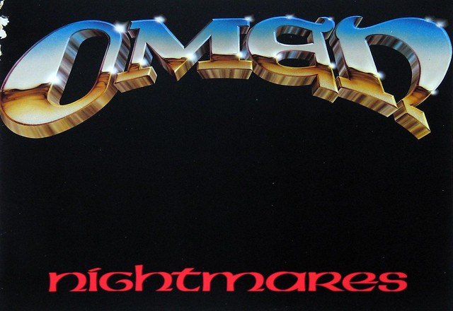 "Omen - Nightmares 12"" Vinyl LP"