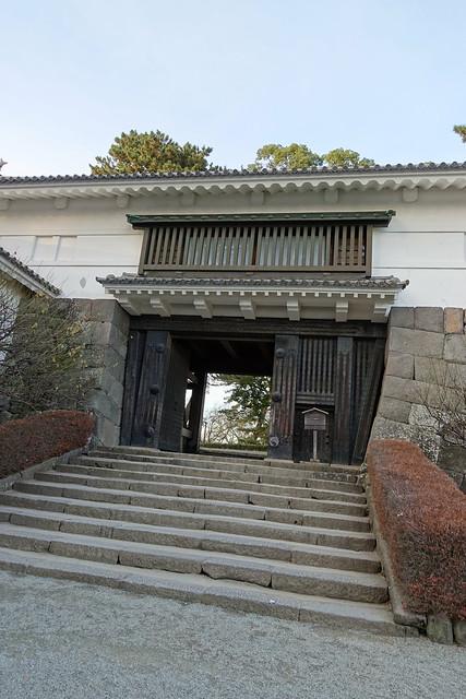 Tokiwagi gate 常磐木門