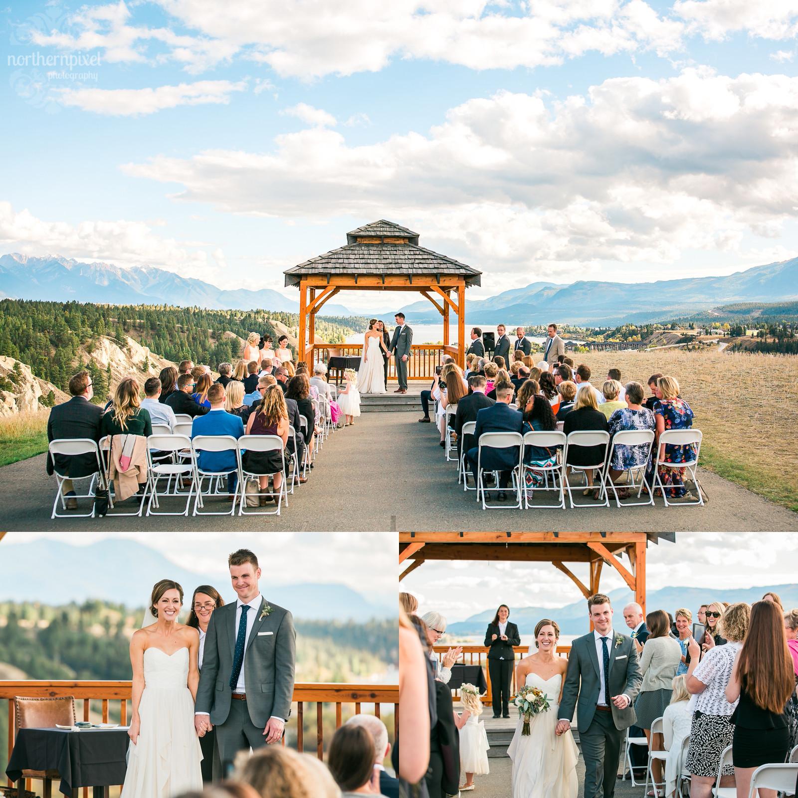 Wedding Ceremony Eagle Ranch Invermere BC