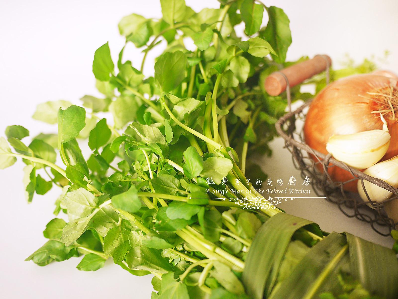 孤身廚房-西洋菜馬鈴薯濃湯3