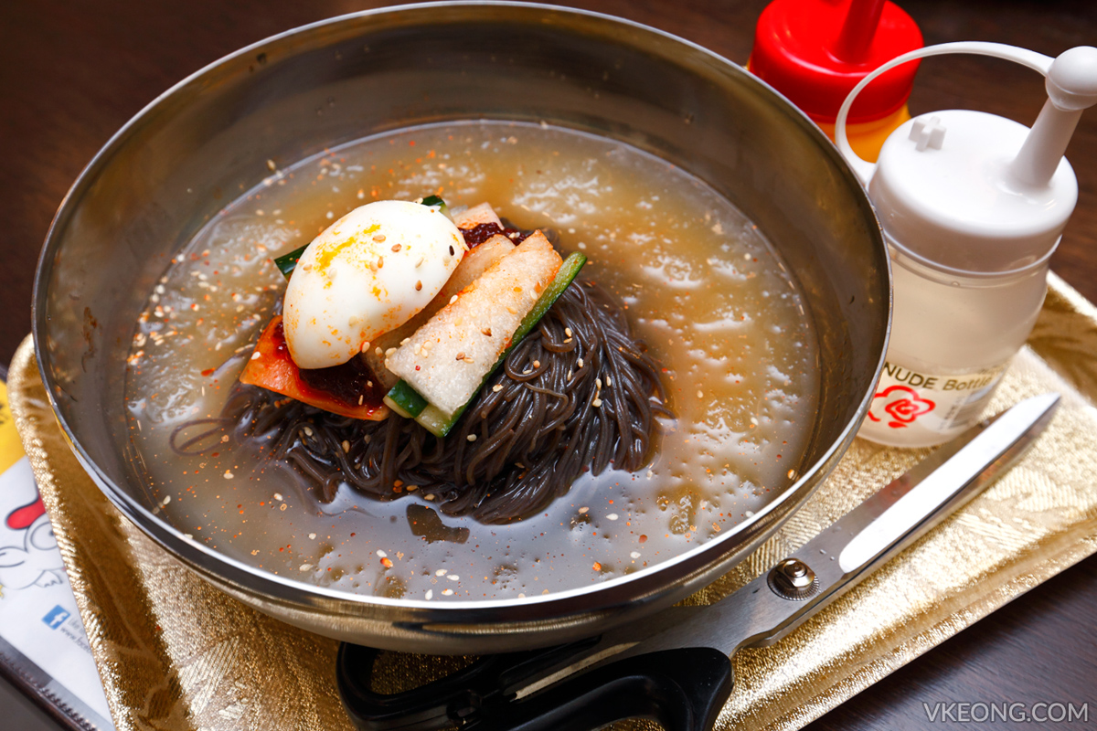 Yoogane Dak Galbi Cold Noodles