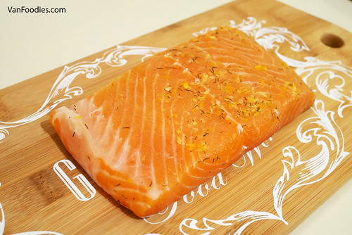 Vodka Citrus Cured Salmon