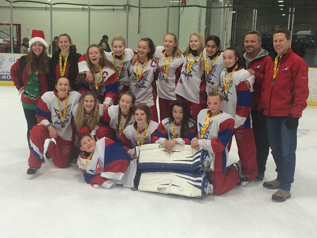 Dec 18, 2016 - Lacombe Ice Brkr - U14AA White wins Silver