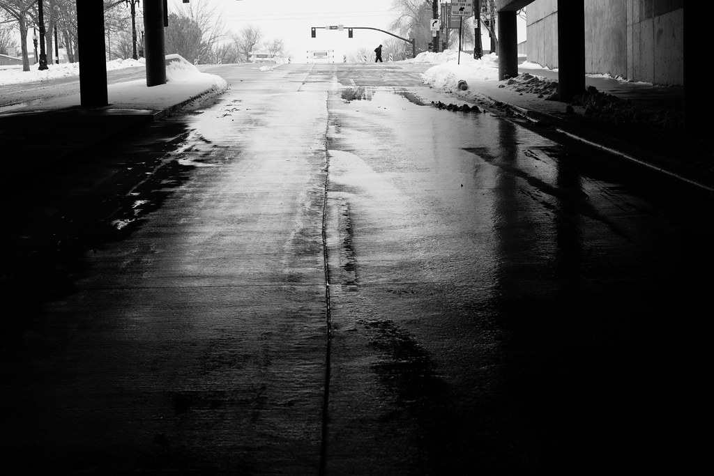 Downtown SLC, Winter