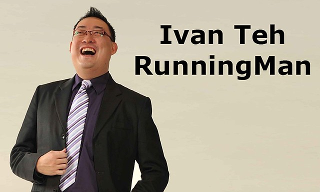 Ivan Teh RunningMan - Name Card