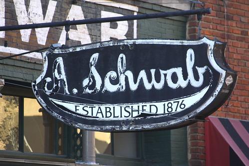 A. Schwab's Neon Sign - Beale St.