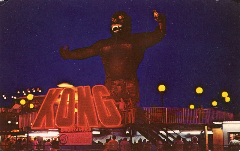 Amusement Park After Dark, Wildwood, New Jersey
