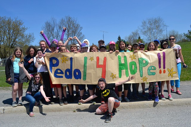 Pedal for Hope Peterborough