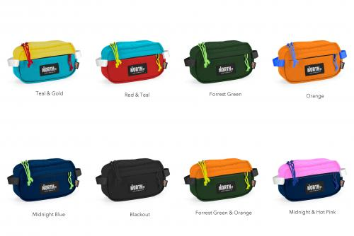 North St. Bags / Pioneer 9 Hip Pack / Various colors