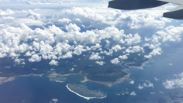 Flying into Philippines 2