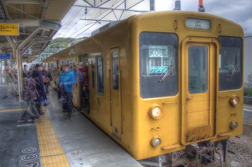 Takehara Station on NOV 23, 2016 (3)