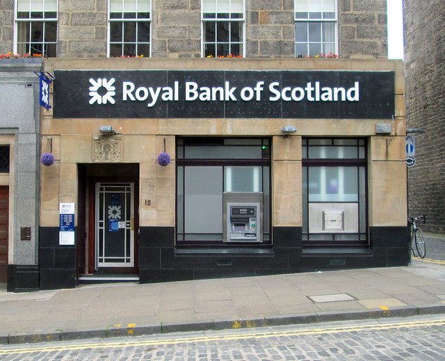 Front View, RBS, N West Circus Place, Edinburgh