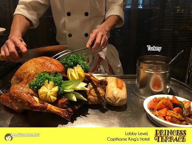 Copthorne Kings Princess Terrace Christmas Penang Buffet Turkey