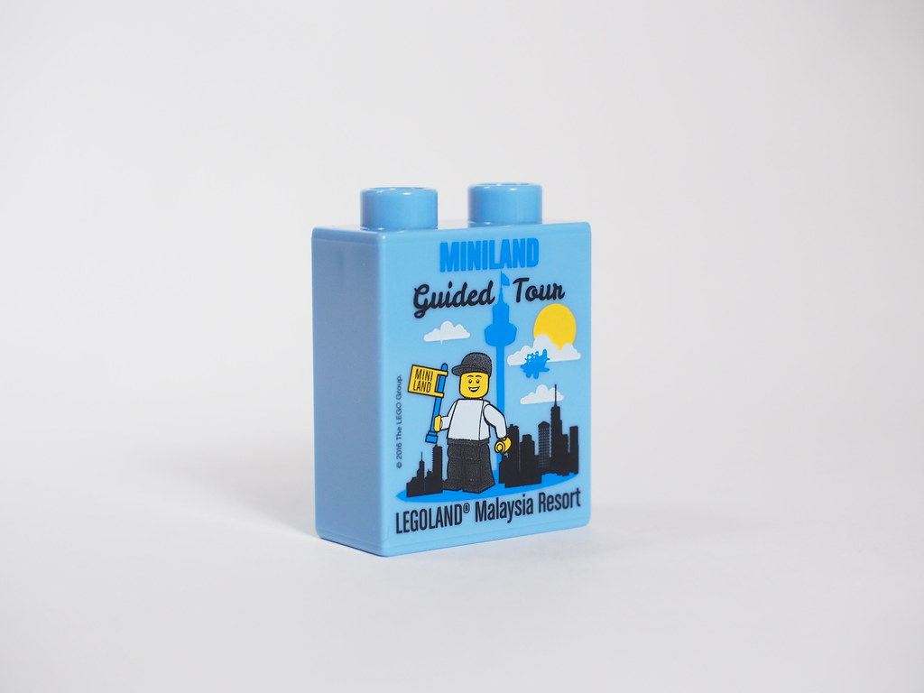 Promotional Bricks From Legoland Malaysia