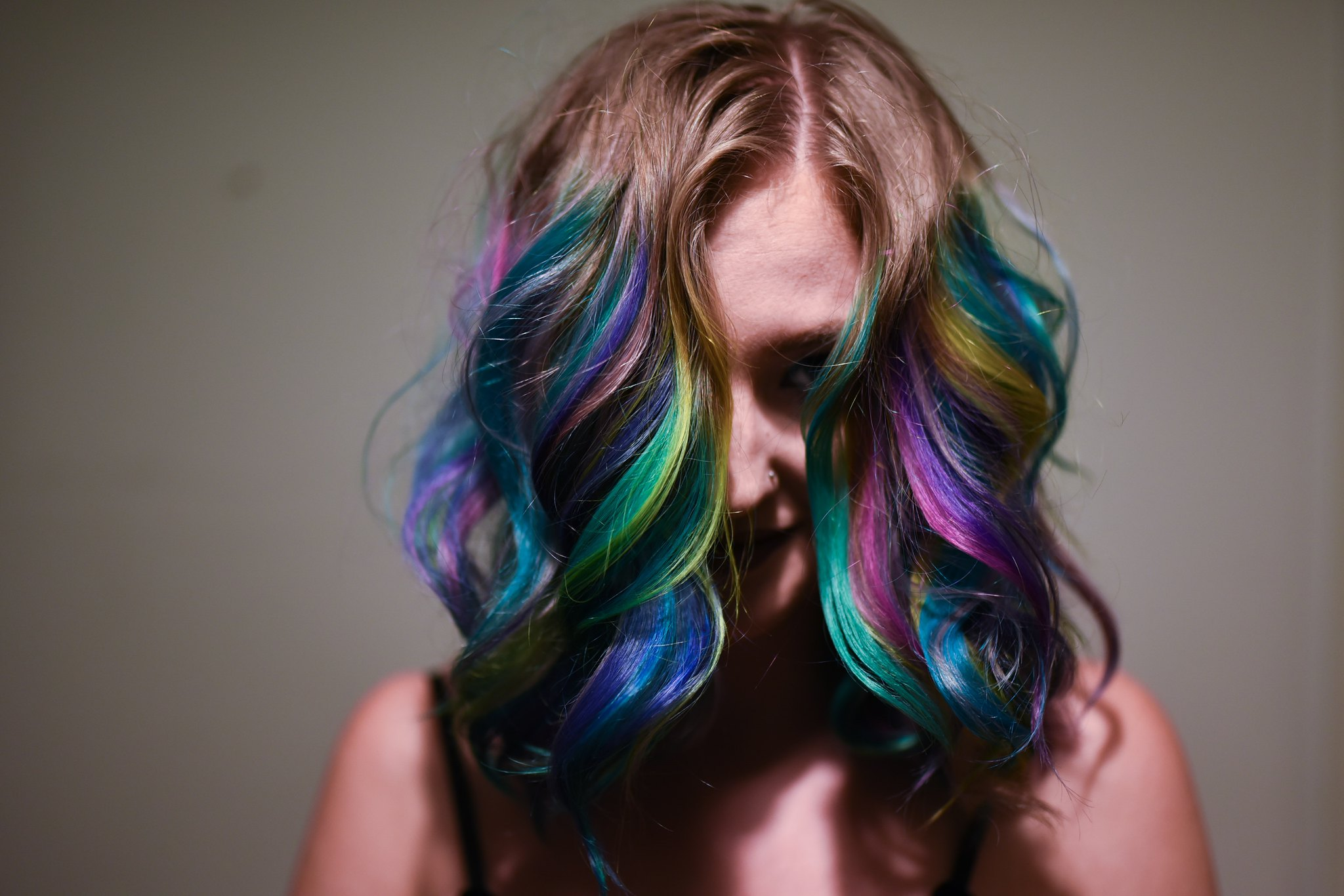 Slunks Rainbow Mermaid Hair