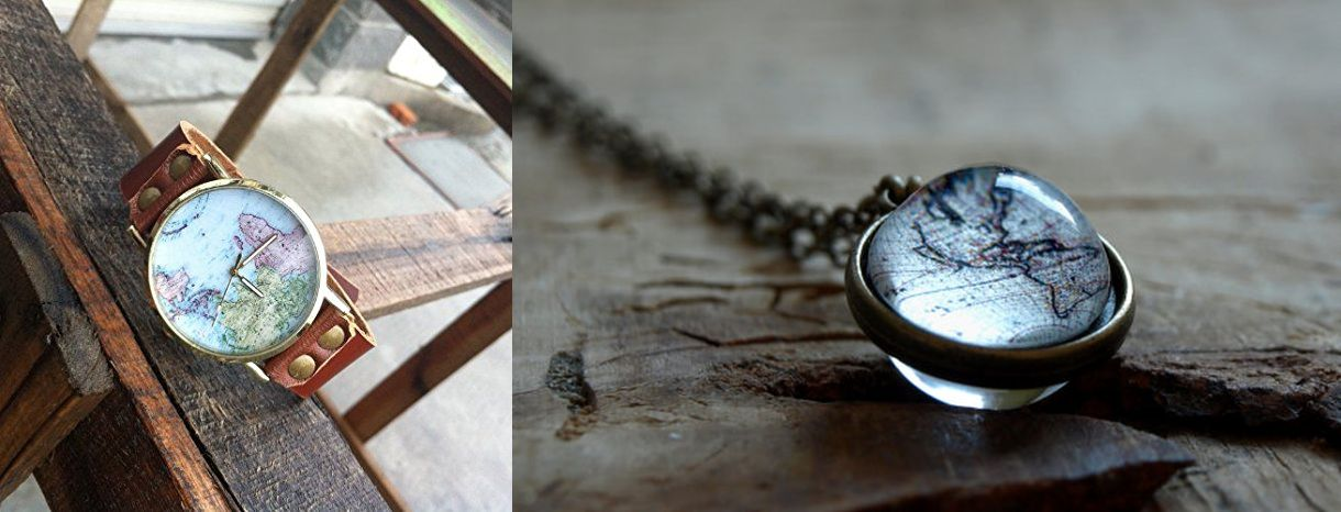 travel themed jewelry