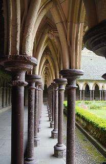 054 Kloostergangen Mont Saint-Michel