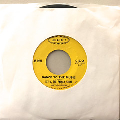 SLY & THE FAMILY STONE:DANCE TO THE MUSIC(JACKET A)
