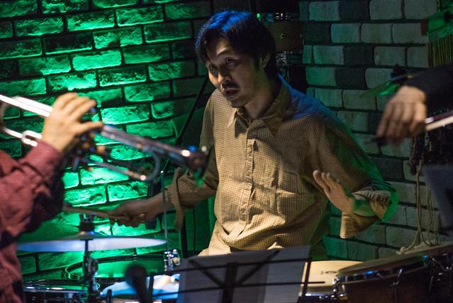 Satoko Fujii Quartet live at Cortez, Mito (Japan), 22 Dec 2016 -00570