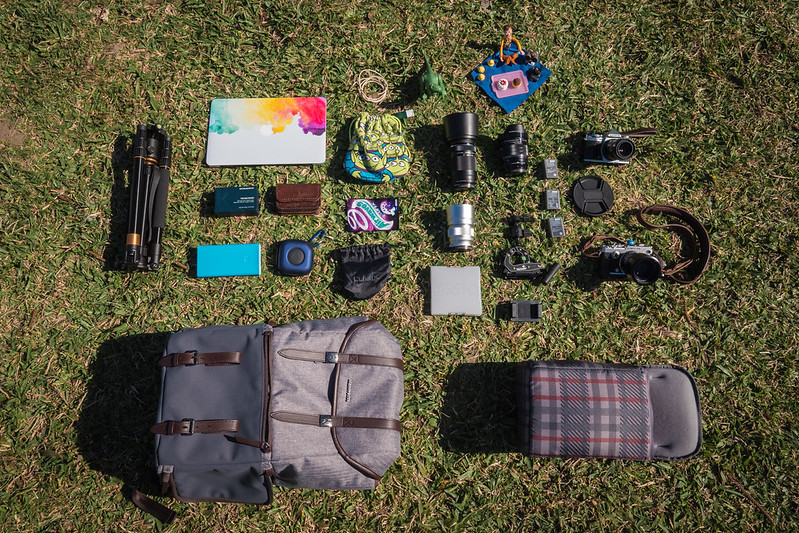 What's In My Bag.|MANFROTTO 溫沙 後背包 LF-WN-BT