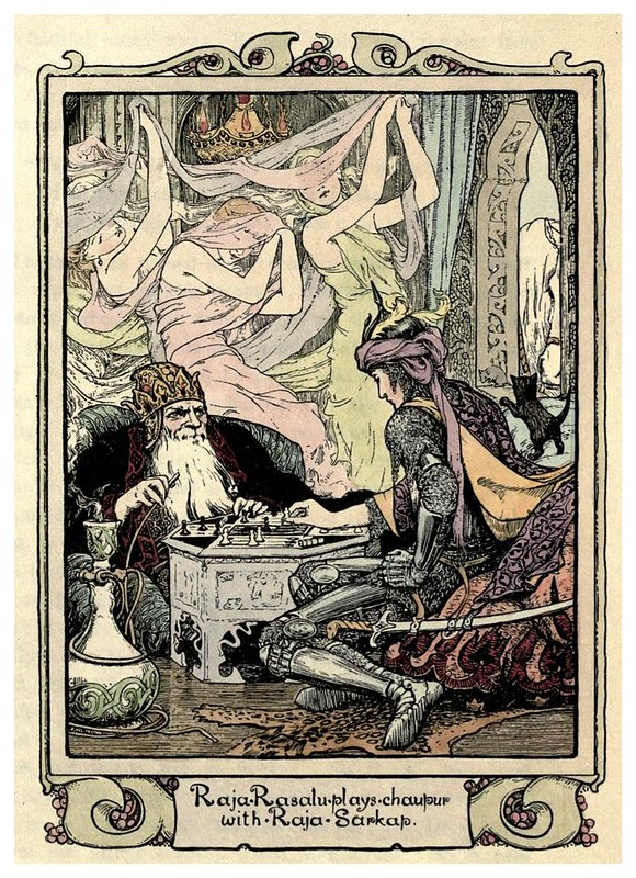 008- Raja Rasalu-Cuentos de hadas indios-1892- John Batten