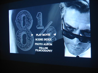 Fellini's 8 1/2 on the projector | by missy & the universe