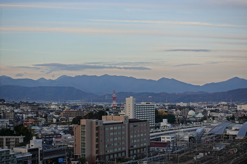 Odawara sky from Odawara castle tower 06