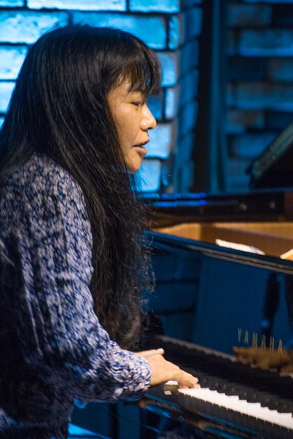 Satoko Fujii Quartet live at Cortez, Mito (Japan), 22 Dec 2016 -00239