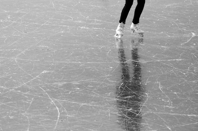 Reflejo en el hielo