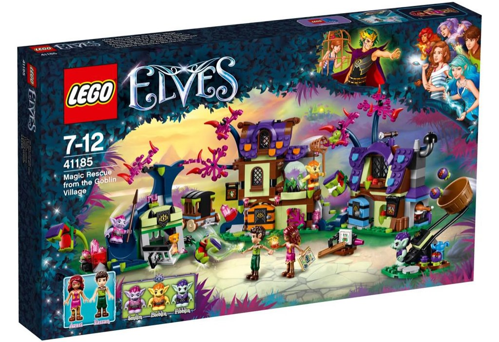 LEGO Elves 41185 - Magic Rescue from the Goblin Village