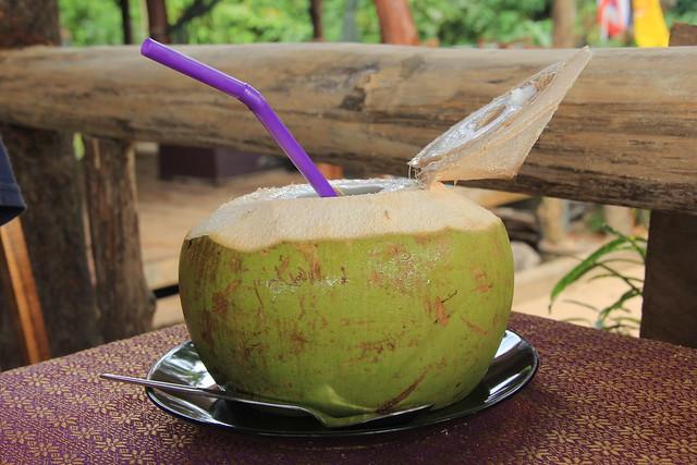 Fresh coconut, Koh Yao Noi