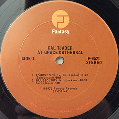 CAL TJADER:AT GRACE CATHEDRAL(LABEL SIDE-A)