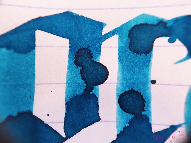 Ink Shot Review Bookbinders Blue Coral @AndersonPens 7
