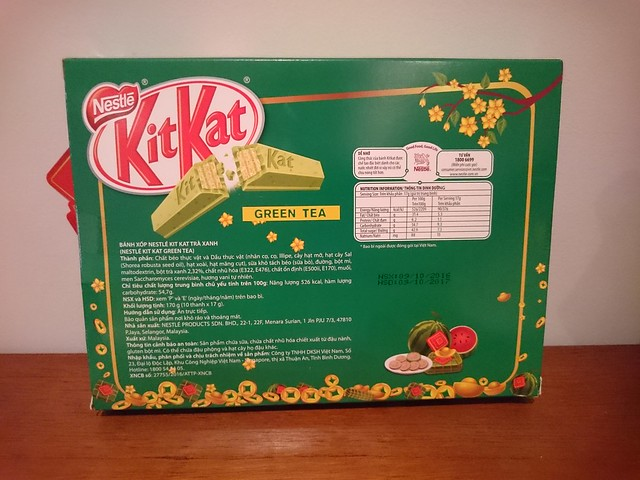 New Year Kit Kats (Vietnam)
