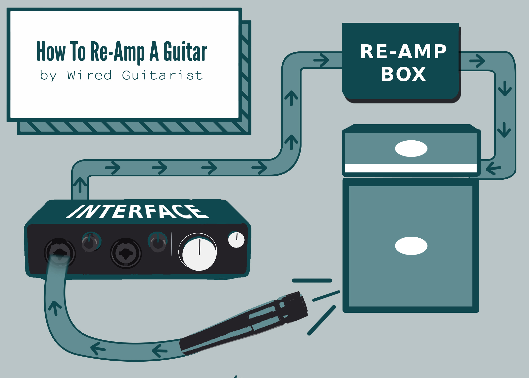 Re-amp Infographic