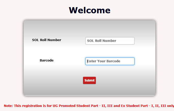 SOL DU Demand Letter Login