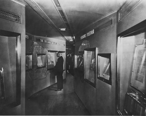 Photograph of Freedom Train Exhibit