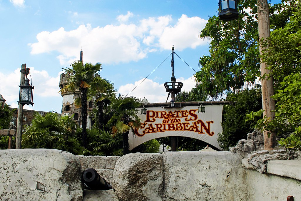 Drawing Dreaming - 10 razões para visitar a Disneyland Paris - Pirates of the Caribbean