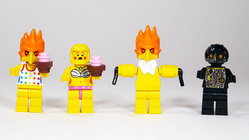 Chica toy chica withered chica amp phantom chica fnaf by brick 101