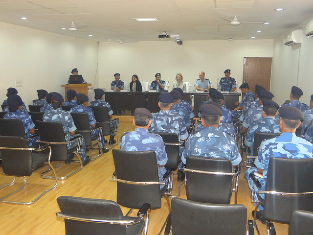 Training for Rapid Action Force Officers (RAF) on conflict related sexual and gender based violence