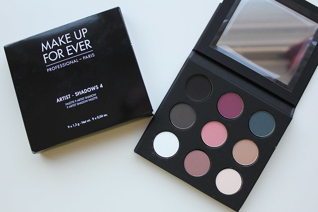 Make Up For Ever Artist Palette Vol. 4 review and swatches