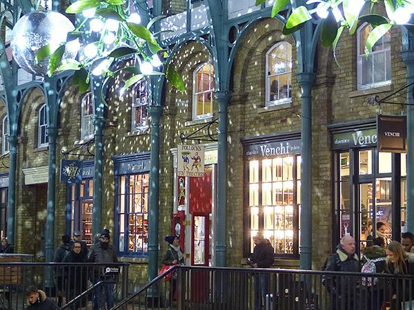 boutiques à Covent Garden