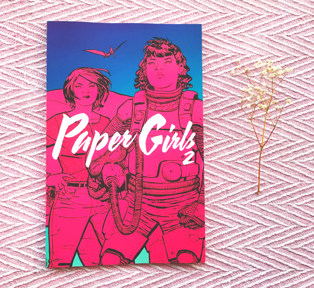 vivatramp uk book bloggers paper girls brian k vaughan book review