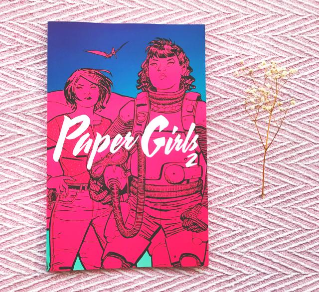 vivatramp uk book bloggers paper girls brian k vaughan book review