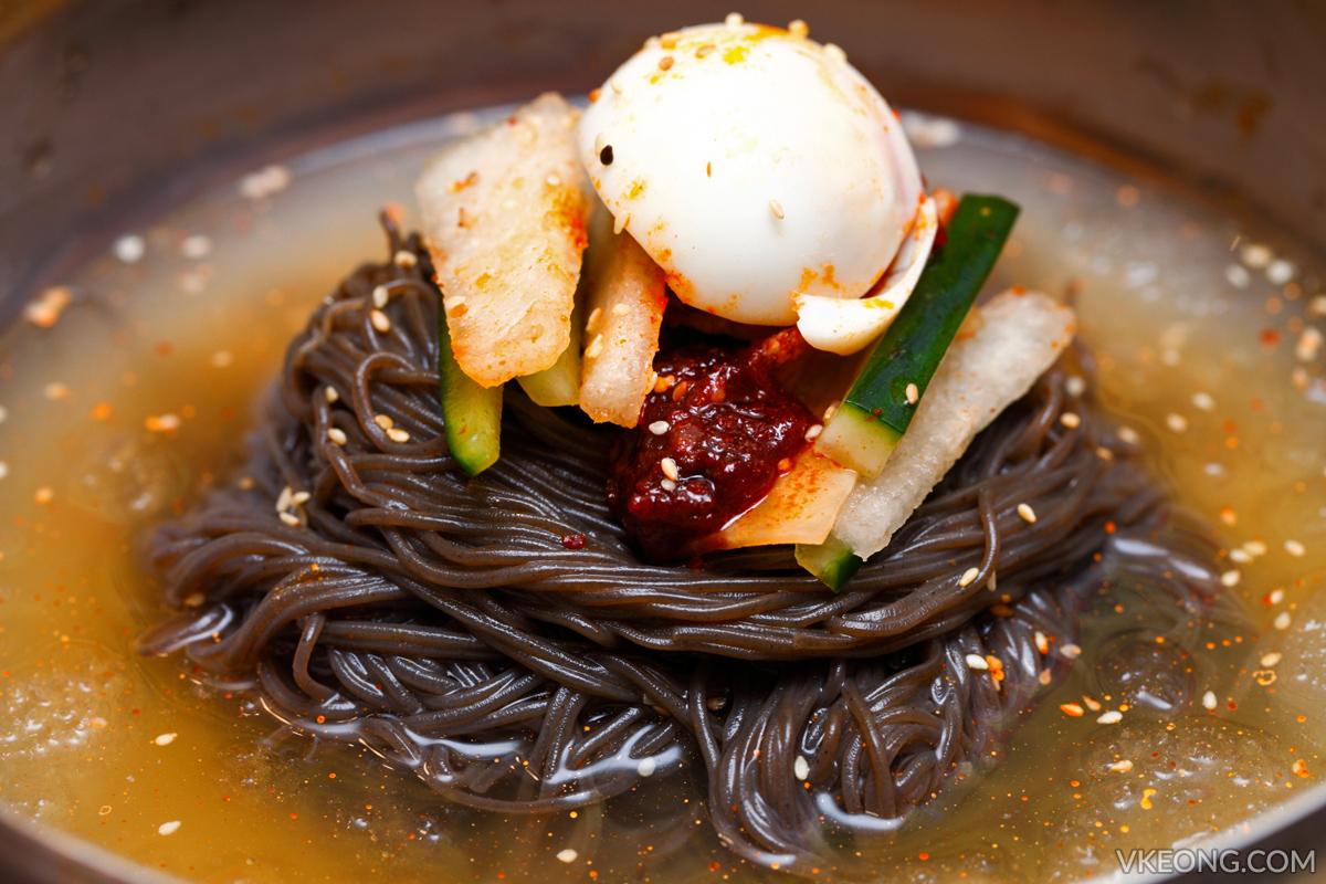 Yoogane Dak Galbi Naengmyeon Cold Noodles