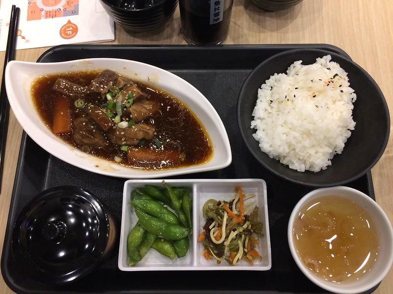 紅燒牛腩定食