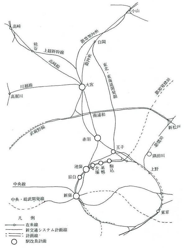 大新宿構想時代の上越新幹線新宿駅地下ホーム (13)