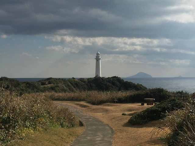 Lighthouse on Tsumekizaki Cape