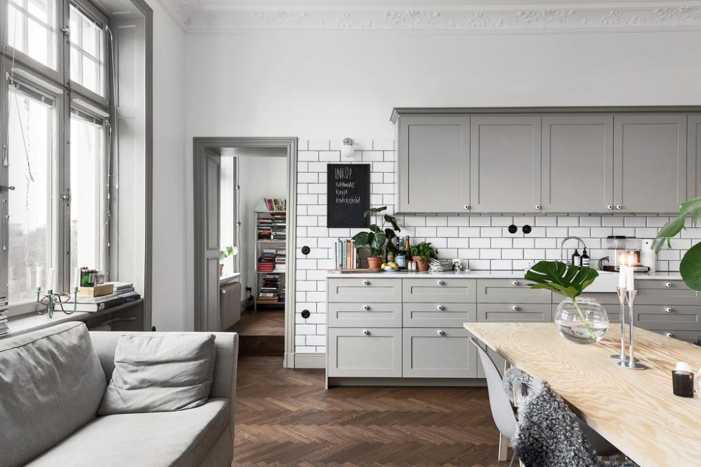 Light Gray Scandinavian Apartment